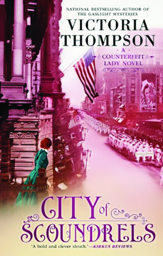 review city of scoundrels by victoria thompson