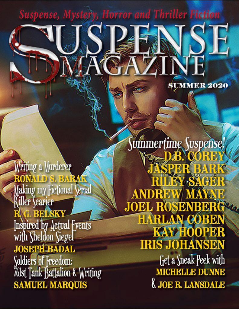 Summer 2020 Issue Suspense Magazine